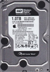 Recovery of a Western Digital WD1001FALS from an Apple iMac